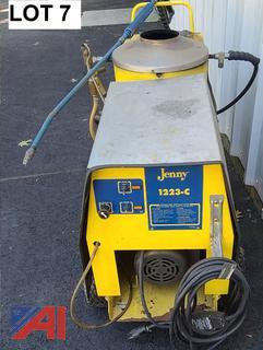 Steam Jenny  High Temp Pressure Washer