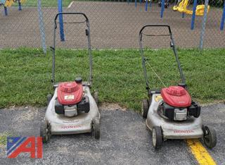 "Honda ES Quadra Cut System Walk-Behind 22"" Lawn Mowers"