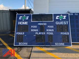 Daktronics Gymnasium Scoreboard