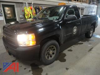 2011 Chevy Silverado 1500 Half Ton Pickup Truck