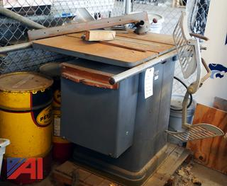 """Rockwell 10"""" #34-450 Table Saw"""