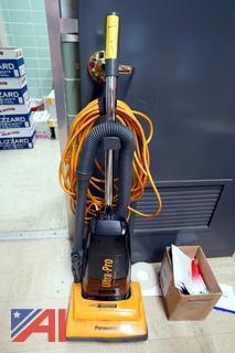 Panasonic Ultra-Pro Upright Vacuum & Supplies