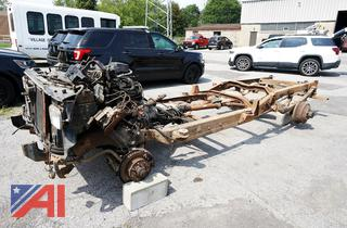 1999 Chevy 3500 Truck Frame & Parts