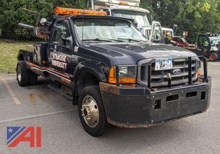 2001 Ford F450 XL Super Duty Tow Truck