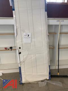 Solid Entry Door