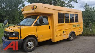 2013 Chevy Starcraft Express G3500 Mini School Bus