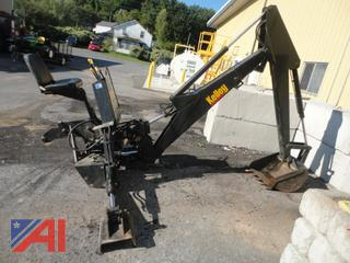 1998 Kelly B70B 3-Point Backhoe Attachment
