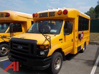 2012 Ford E350 Super Duty Mini School Bus