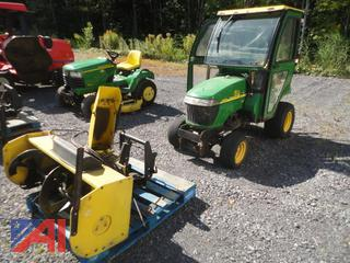 2008 John Deere LV2305 HST 4WD Tractor with Snow Blower