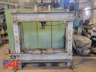 Large H Frame Press w/ Hydraulic Unit