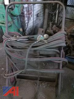 Welding Cart with Hose
