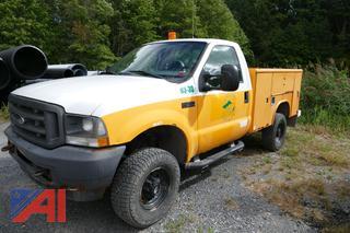 (03-30) 2003 Ford F350 XL Super Duty Utility Truck