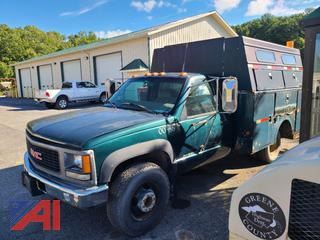 (00-36) 2000 GMC Sierra Classic 3500 Utility Service Truck