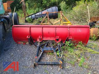 (#16) 8' Fisher Plow