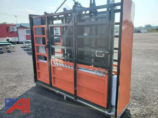 10' Cattle Chute with Weight Scale