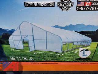 30' x 40' Greenhouse Grow Tent