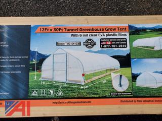 12' x 30' Tunnel Green House Grow Tent