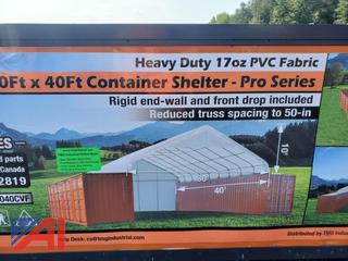 30' x 40' Pro Series Container Shelter