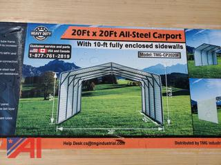 20' x 20' Steel Carport