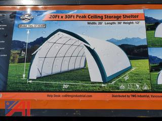 20' x 30' Peak Ceiling Storage Shelter