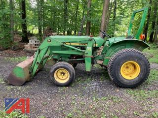 UPDATED: John Deere 850S Tractor with Front Loader
