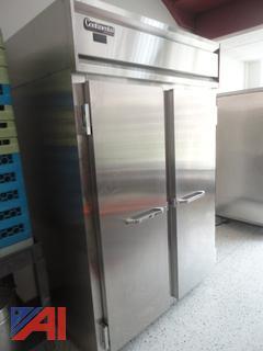 Continental Stainless Steel Refrigerator Freezer