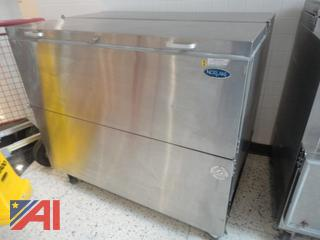Norlake Stainless Steel Rolling Milk Cooler