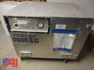 Force Air 2000EC Air Scrubber
