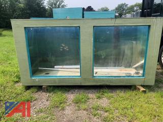 Large Fiberglass Display Tanks