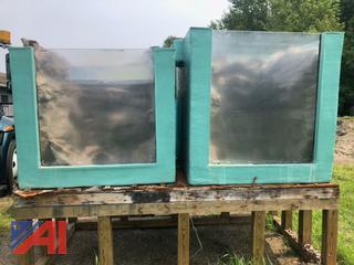 Small Fiberglass Display Tanks