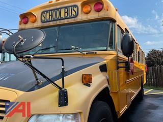 2009 Blue Bird Vision Wheelchair School Bus