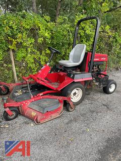 """Toro Groundsmaster 345 72"""" Lawn Mower and Tires"""