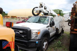2011 Ford F550 Bucket Truck with Boom