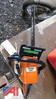 Stihl 021 Chain Saw