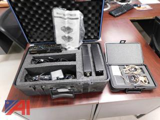 Marantz PMD221 Portable Mono Cassette Recorder & Accessories