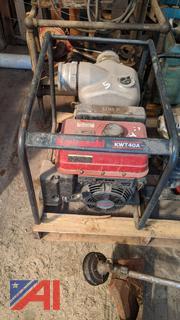 "Kawasaki KWT40A 4"" Trash Pump"
