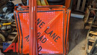 Road Work Signs & Braces