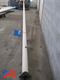 35' Fiberglass Flag Pole