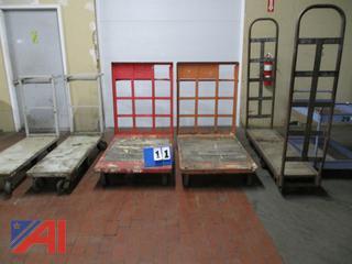 Heavy Duty Rolling Warehouse Carts