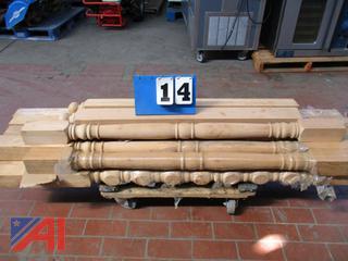 Wooden Hemlock Posts