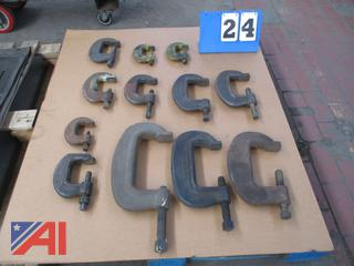 Heavy Duty C Clamps and L Brackets