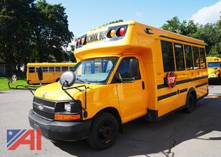 2012 Chevy/Blue Bird Micro Bird 3500 Mini Wheelchair Bus Bus/90