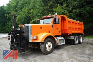 2008 Peterbilt 367 Dump Truck with Plow and Wing