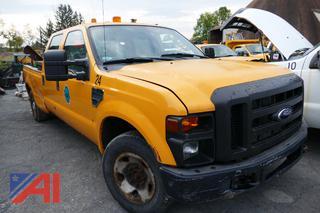 (#3) 2008 Ford F350 Super Duty 1 Ton Crew Cab Dump Truck