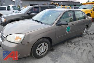 (#22) 2007 Chevy Malibu LS 4 Door