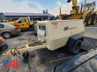 (#12) Ingersoll Rand (IR) P185 Tow Behind Compressor
