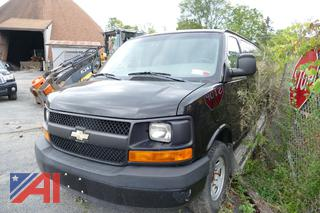 (#S218) 2009 Chevy Express LS 3500 Extended Van