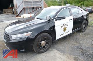 (#S213) 2013 Ford Taurus 4 Door/Police Vehicle