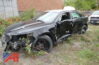 (#S522) 2016 Ford Taurus 4 Door/Police Vehicle