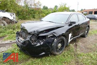 (#S803) 2015 Ford Taurus 4 Door/Police Vehicle